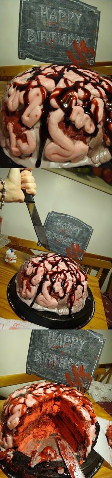 Kuchen für Hallowien lustig
