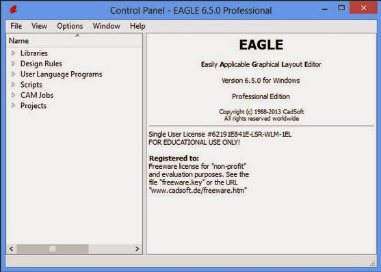 CadSoft Eagle Professional 6.5 Incl Key Patch - Blog Downloaded