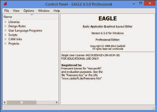 Serial CadSoft Eagle Pro