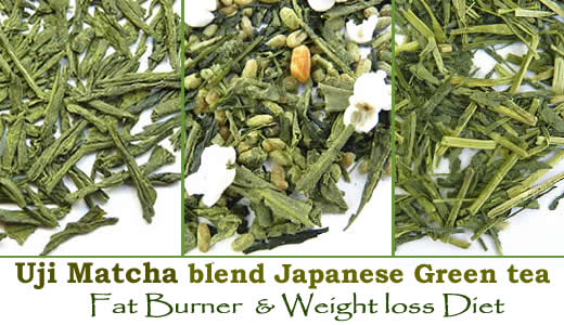 Best Uji Matcha powder green tea weight loss fat burner diet remedies