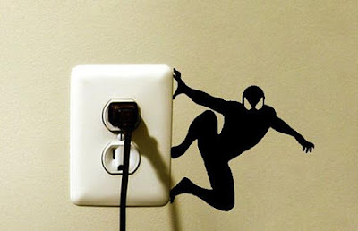 Spider-Man Light Switch Sticker