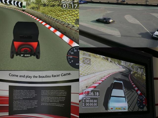 Beaulieu Motor Museum racer game