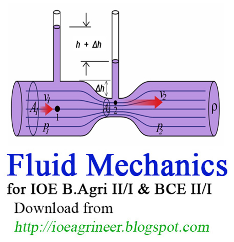 Collection of Studying material -on Fluid Mechanics for IOE B Agri