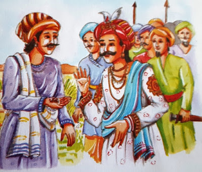 राजा विक्रमादित्य के तीन प्रश्न (Story on God in Hindi)