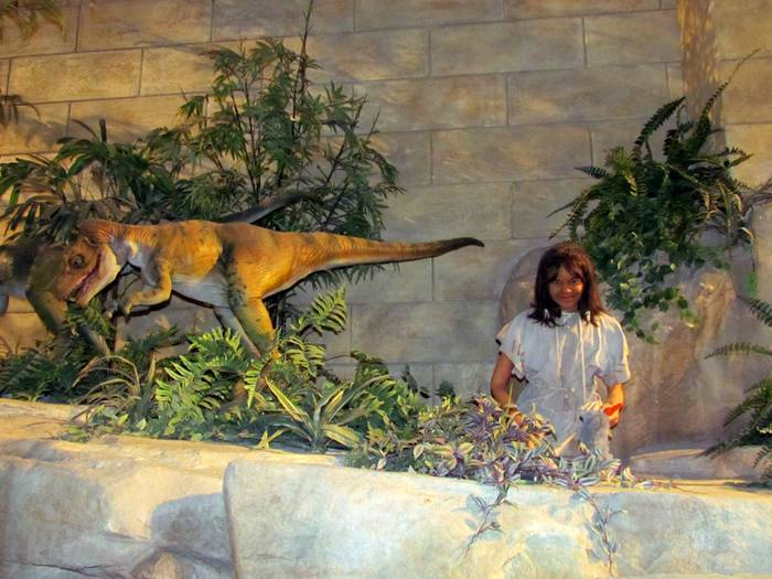 The Creation Museum is a tourist attraction near Petersburg, Kentucky which presents a mythical account of the origins of the universe, life, and humankind, portraying a 'creationist' narrative based upon a literalist interpretation of the Book of Genesis, rather than scientific knowledge. The Creation Museum opened its doors to the public on May 28, 2007.