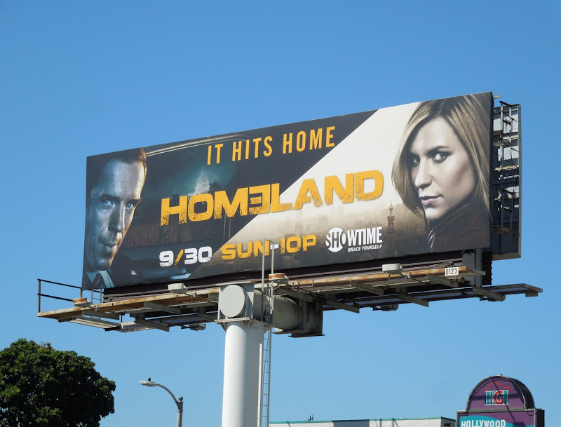 Homeland season 2 billboard