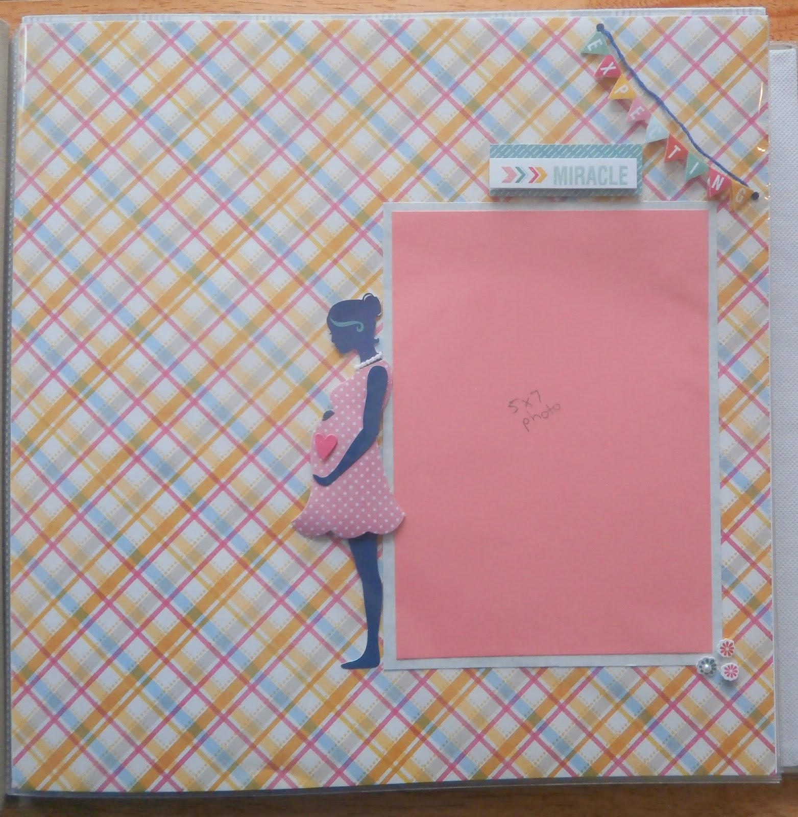 Journey scrapbook ideas - Expectant Mother Page I Never Used To Try And Include This Page Since I Hated Having My Picture Taken When I Was Pregnant But Now That My Boys Are Older I