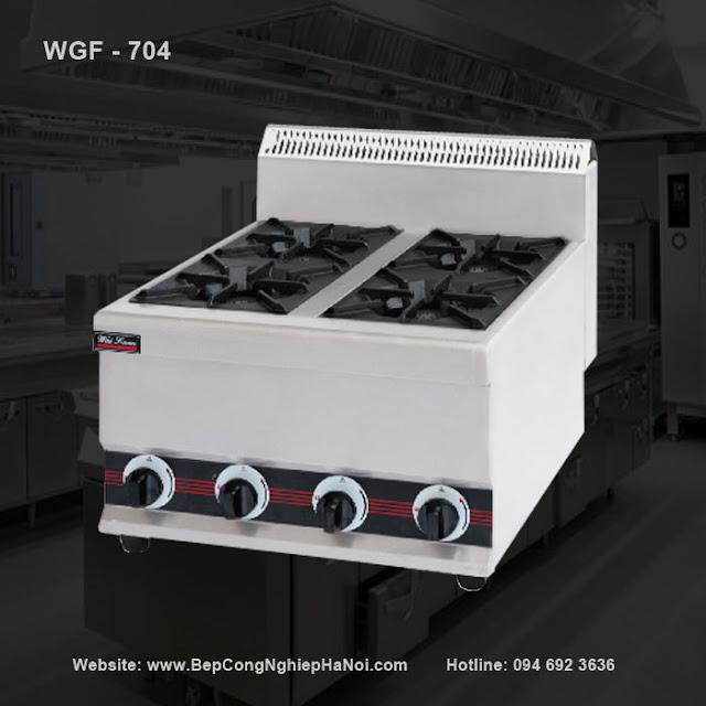 Bếp âu 4 kiềng chuyên bếp khách sạn WGF - 704