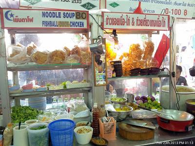 street food Halal murah di  Bangkok
