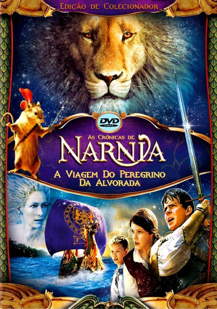 Poster do filme As Crônicas de Nárnia: A Viagem do Peregrino da Alvorada