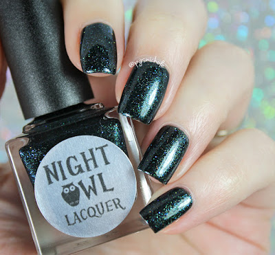 Night Owl Lacquer Collapsed Star • Polish Pickup May 2017 • Science