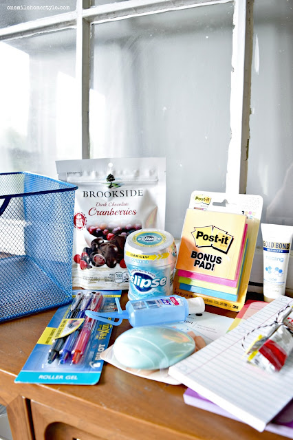 Back to school teacher appreciation gift basket