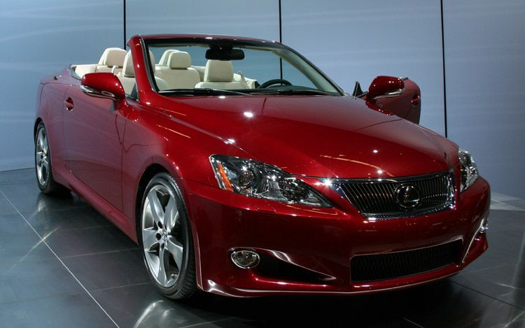 2010 Lexus Is 250c Ful Car Design