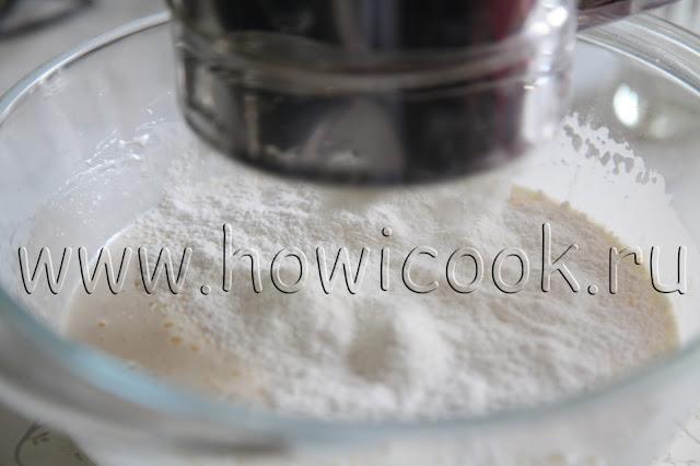 рецепт яблочного пирога на кефире с пошаговыми фото