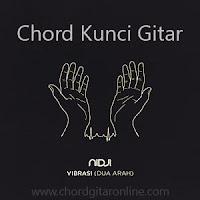 Chord Kunci Gitar Vibrasi (Dua Arah) Nidji