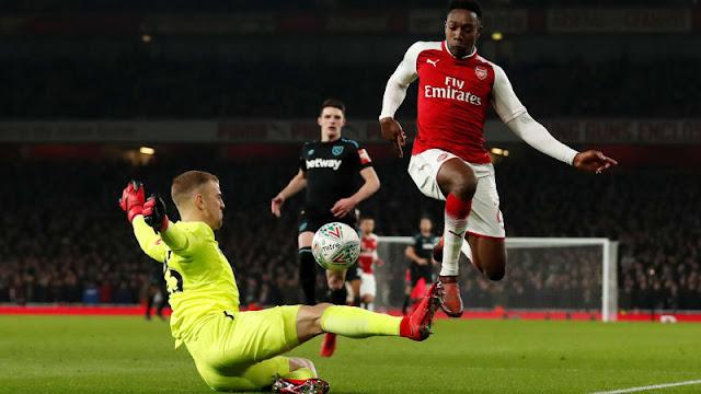 Menang Tipis Arsenal Menjamu West Ham Skore 1-0