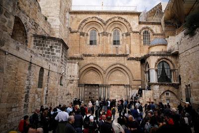 Israel suspende medidas que causaram fechamento da Igreja do Santo Sepulcro