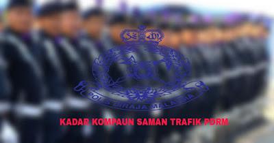 Kadar Kompaun Saman Trafik PDRM 2018