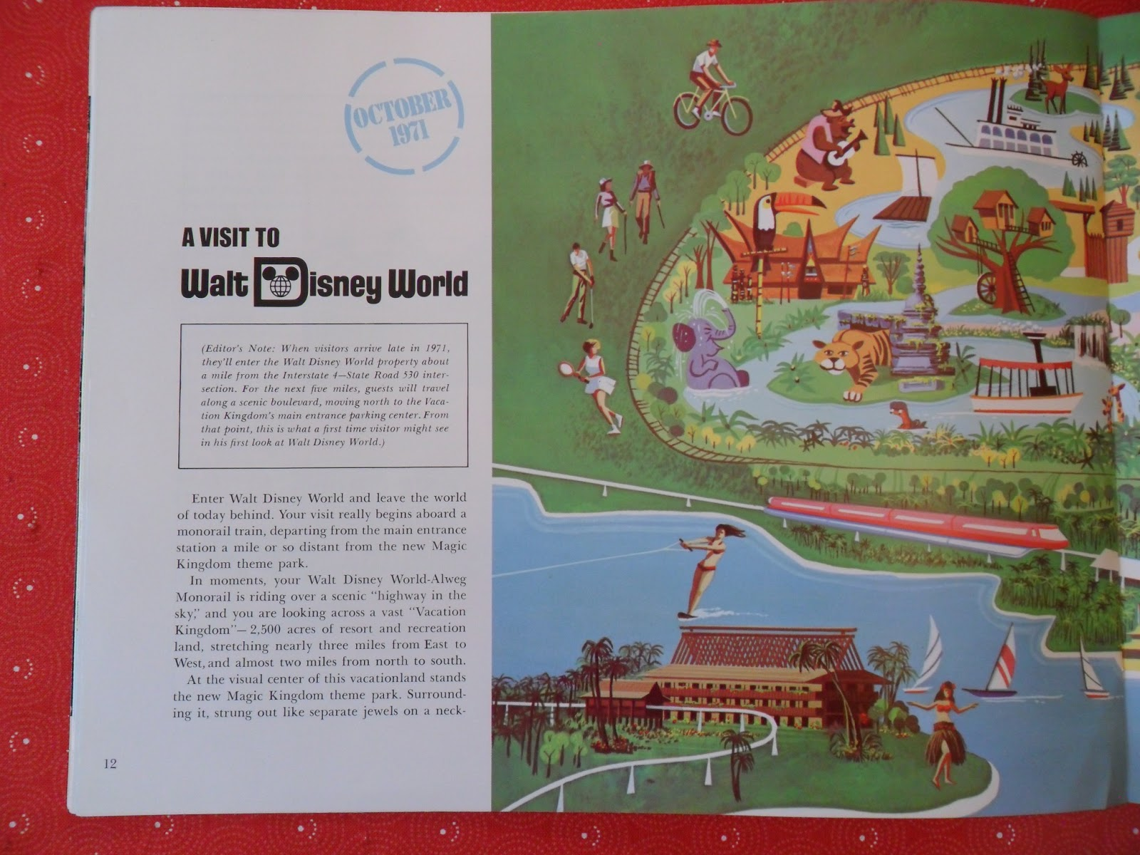 Walt Disney World Preview Edition 1970, Pg. 12