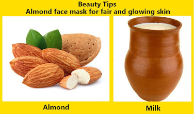 Almonds Face mask Beauty Tips