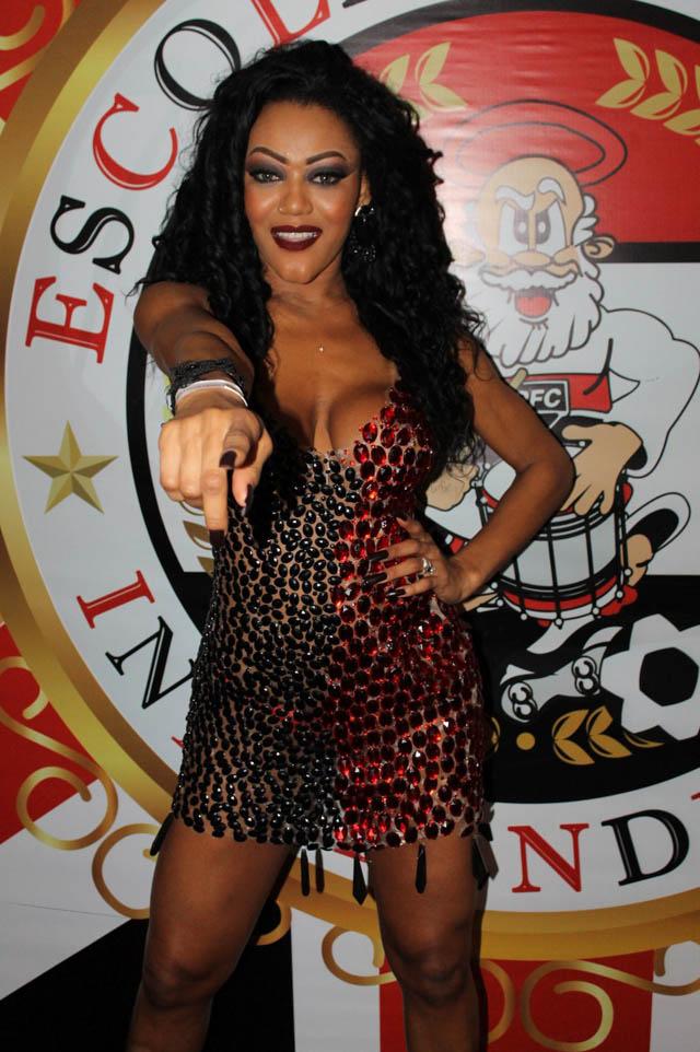 Cassia Almeida vai estrear no carnaval paulista como Musa da Independente Tricolor. Foto: Renato Cipriano