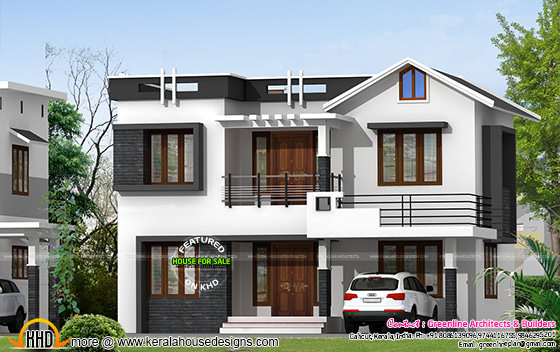 Villa for sale in Kerala - design style 2