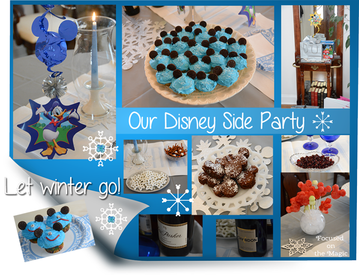 Our #DisneySide Party - Frozen Foods