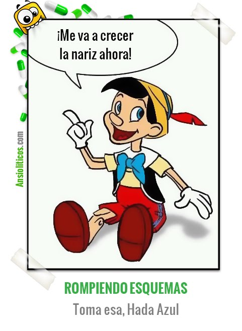 Chiste de Dibujos Animados Pinocho Vacilón