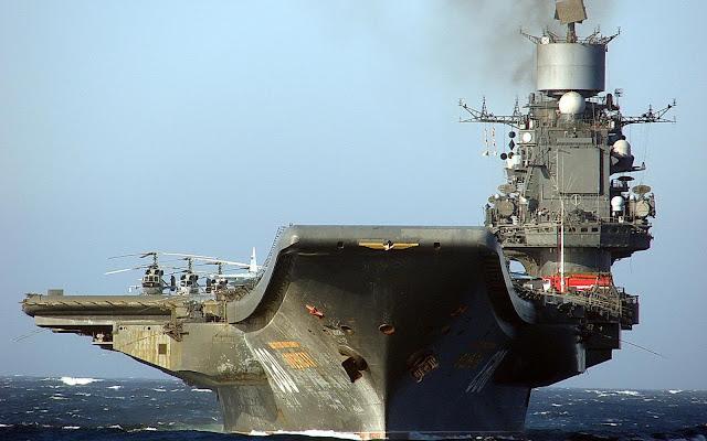 Γιατί έρχεται το ρωσικό αεροπλανοφόρο στην Αν. Μεσόγειο