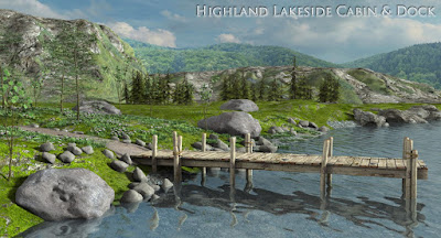 1stBastions Highland Lakeside Cabin and Dock