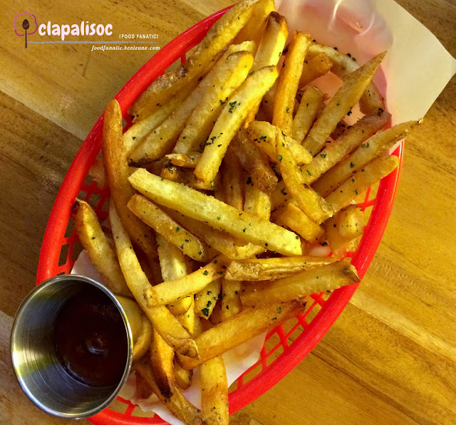 Homemade French Fries from Pink's Hot Dogs Manila