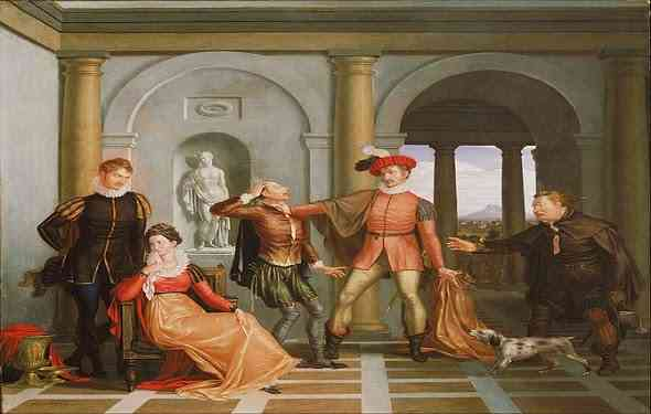 the-taming-of-the-shrew-مسرحية-ترويض-النمرة-شكسبير