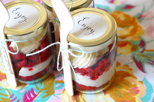 wedding cake in a jar festabimbi 22964