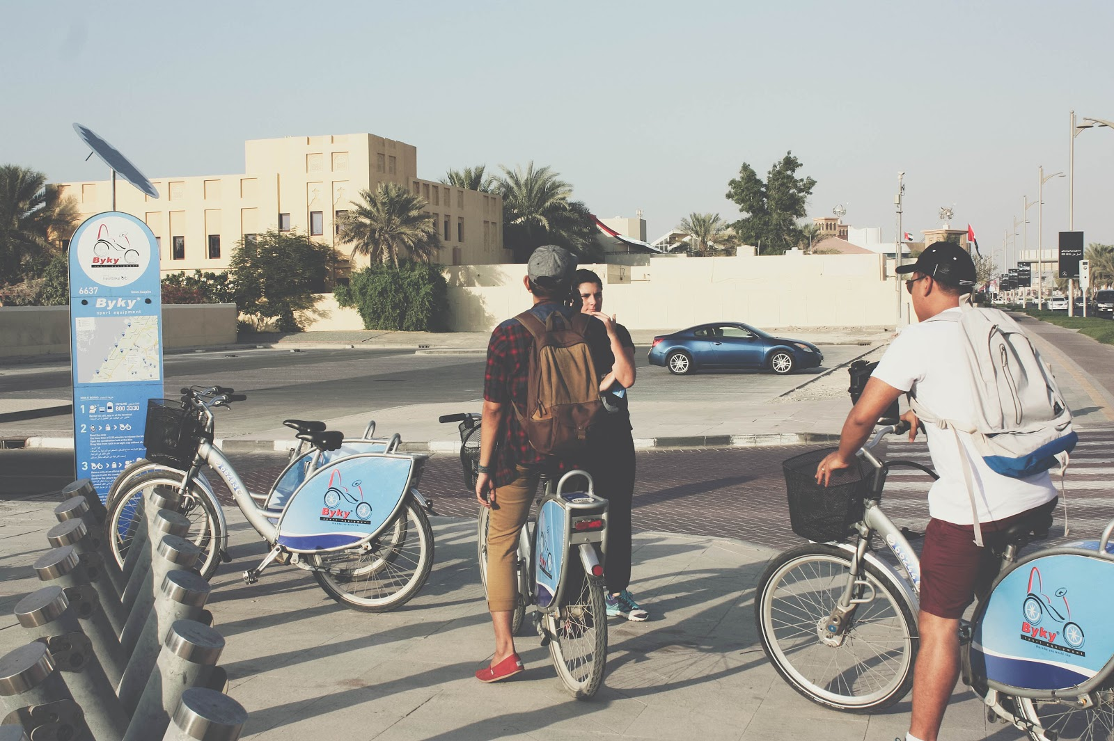 photo of biking in Dubai