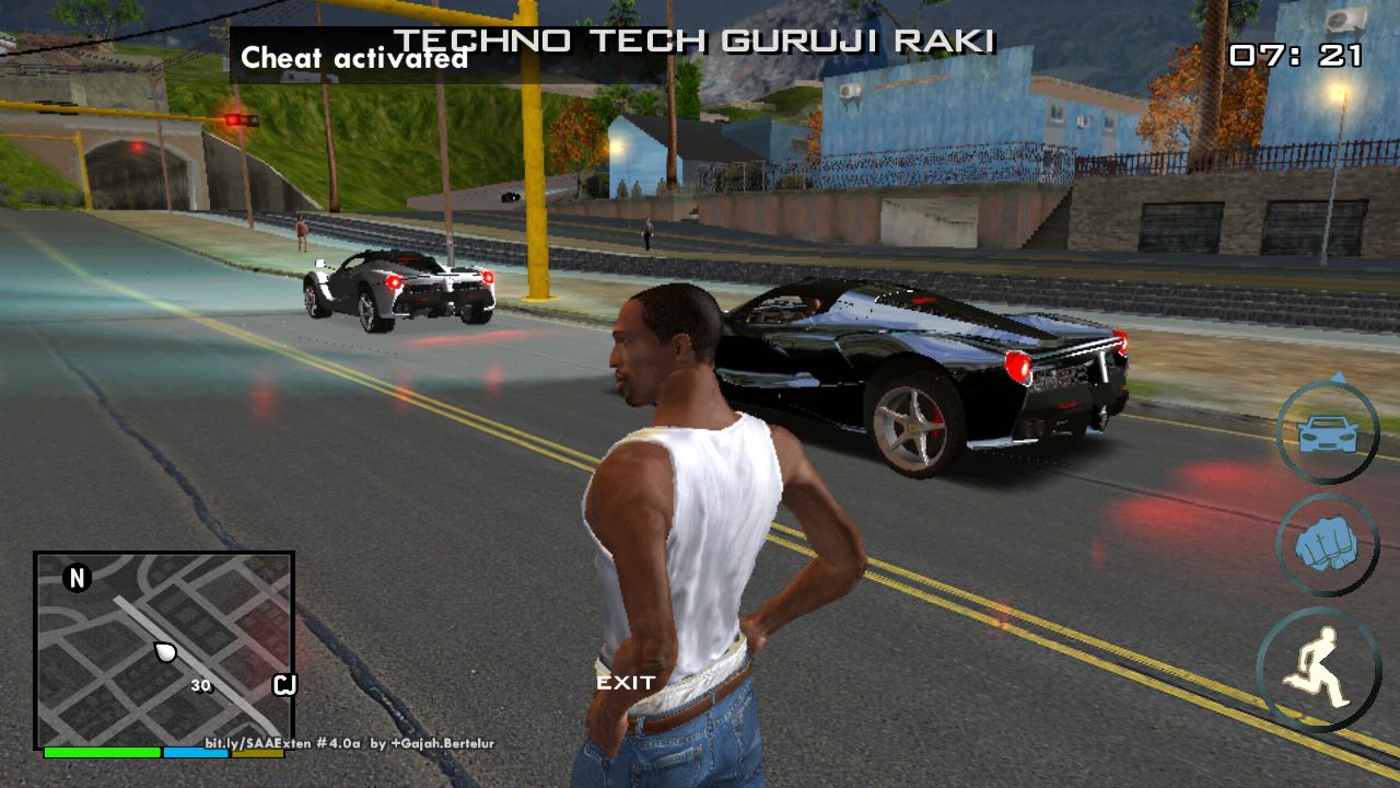 4K Ultra HD (4k) ENB Graphics Mod For GTA SA On Android