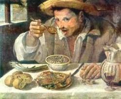 Porque a la ora de alimentarte te daban otro plato vació