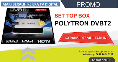 set top box tv digital dvb-t2 polytron