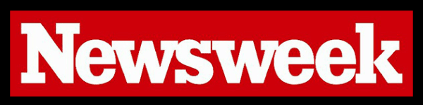 The masthead logo for Newsweek magazine.