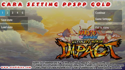 Cara Setting PPSSPP Gold di Android