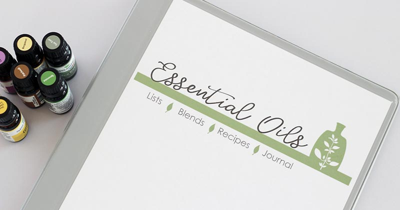 photograph about Printable List of Essential Oils and Their Uses titled The Printable Very important Oils Binder By yourself Will need in direction of Purchase