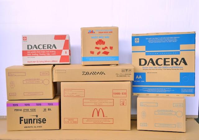 Mẫu in thùng carton đẹp theo yêu cầu