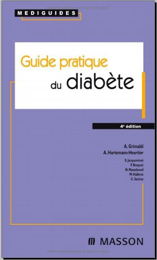 Livre : Guide pratique du diabète -  André Grimaldi