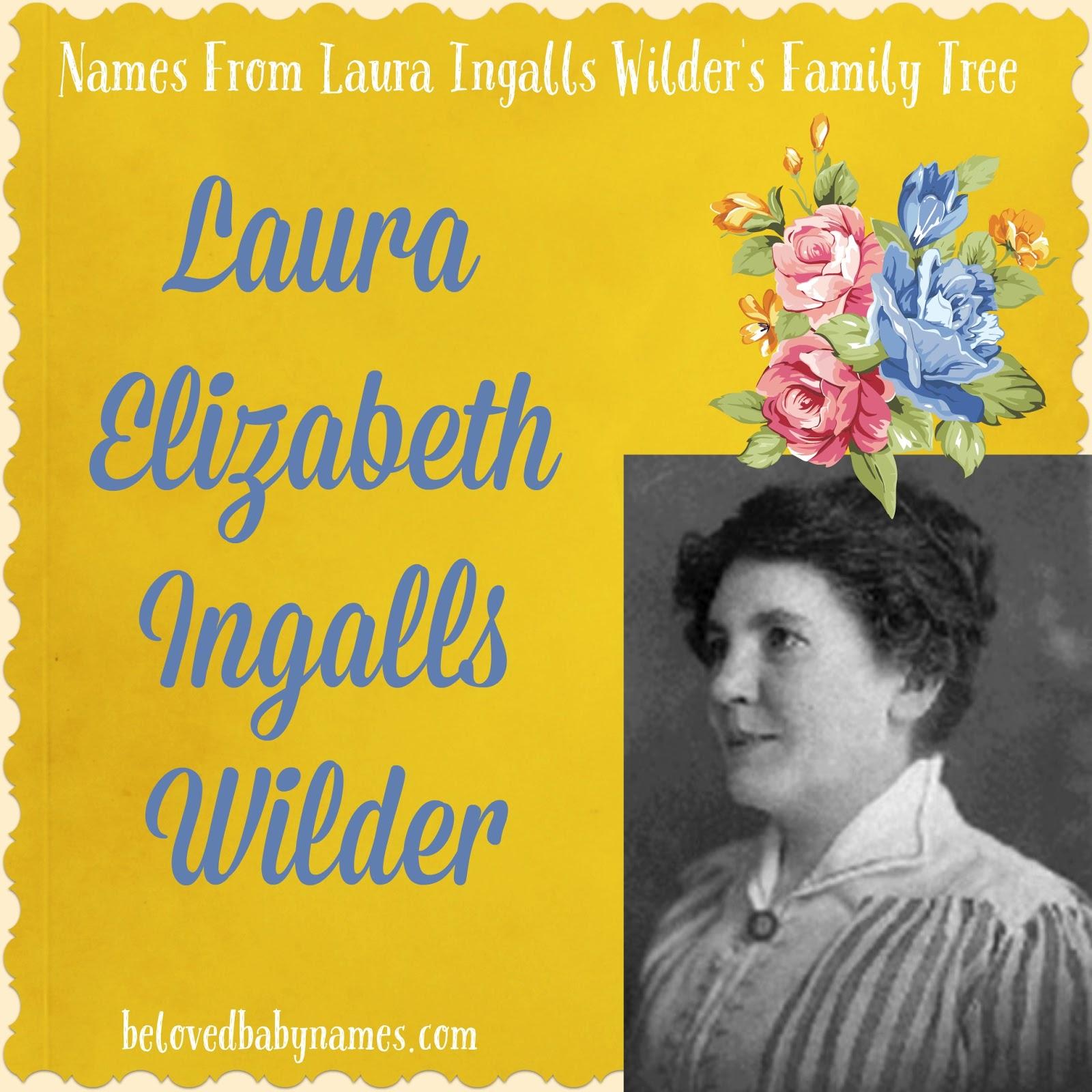 laura ingalls wilder family tree