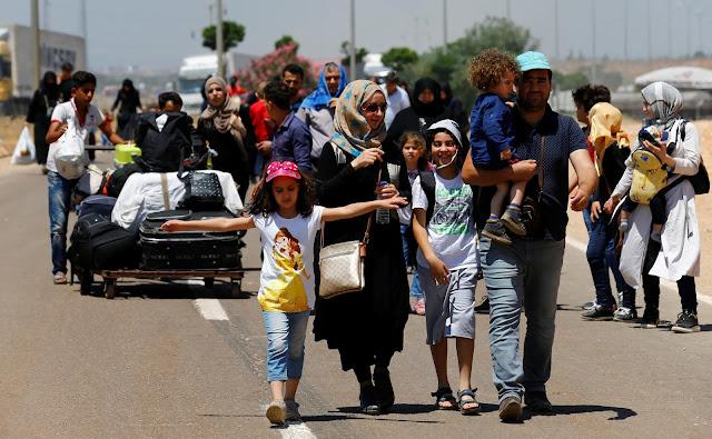 14%نسبة السوريون الذين عادوا من تركيا للاستقرار في سوريا