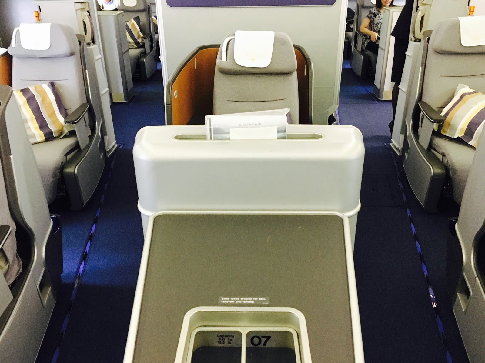 Fantastic Flight Review Lufthansa Lh490 Business Class 747 Frankfurt Gmtry Best Dining Table And Chair Ideas Images Gmtryco