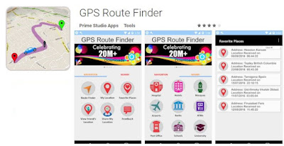 Aplikasi Android GPS Online dan Offline