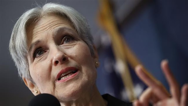 US Green Party presidential nominee Jill Stein: Don't 'throw your vote away' on Hillary Clinton or Donald Trump