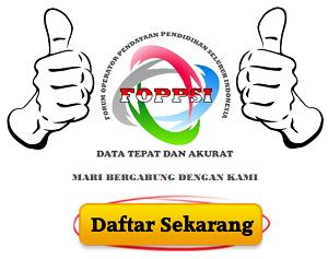 Formulir Pendaftaran Anggota FOPPSI Tangsel