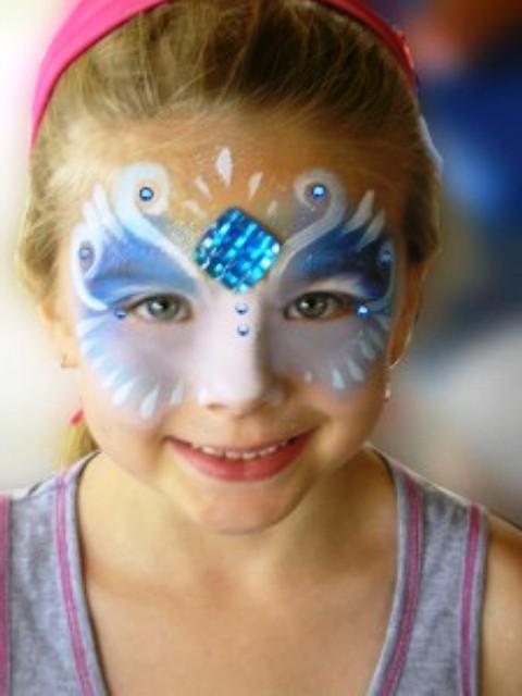 Disney Princess Face Painting Ideas
