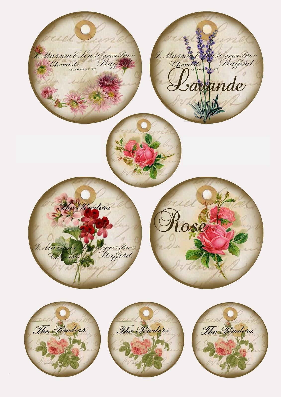 Mi baul del decoupage delicias vintage - Laminas para la pared ...